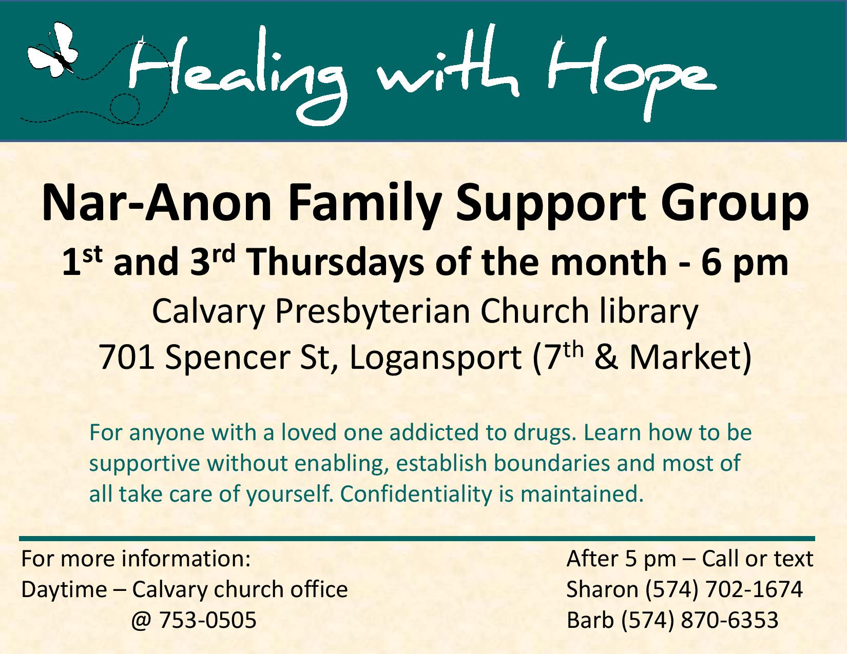Healing with Hope Flyer